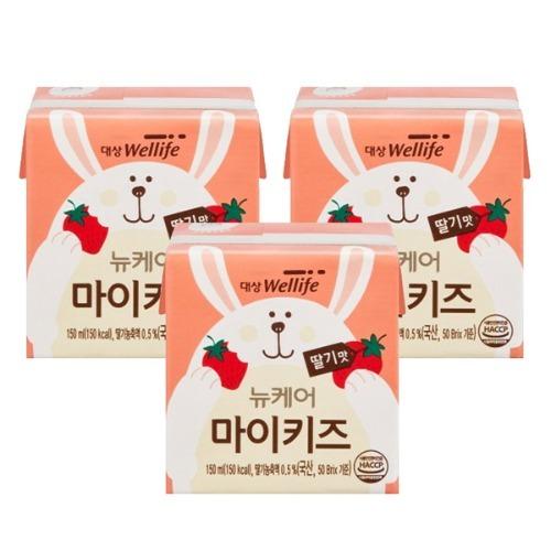 M 뉴케어 마이키즈 딸기맛 150ml x 48팩 - 식사대용 영양식