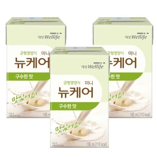 M 뉴케어 미니구수한맛 아셉틱 150ml x 64팩 - 환자영양식