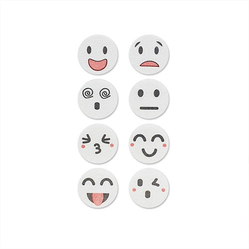 M 이모티콘 마스크 향패치 요기조기 8매 x 10팩