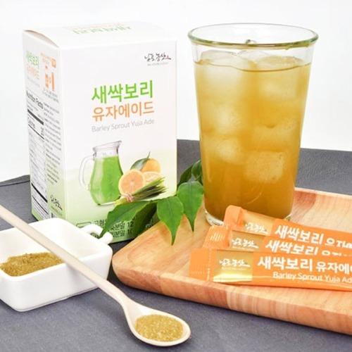 M 새싹보리 유자에이드 스틱 5g x 30포 - 새싹보리분말