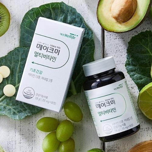 M 대상 웰라이프 메이크미 멀티비타민 90정