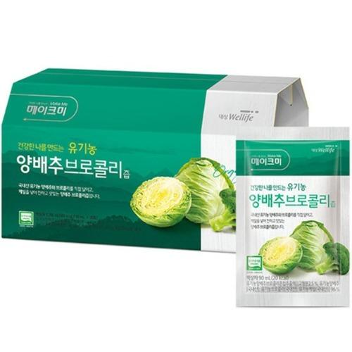 M 메이크미 유기농 양배추 브로콜리즙 30포