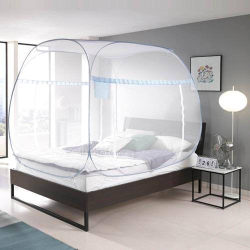M [모빌리에] 침대 거실용 원터치 팝업 모기장(퀸,킹)