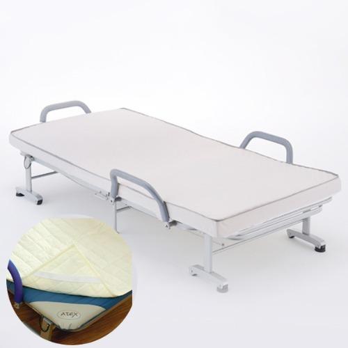 M 아텍스 수납식 리클라이닝 침대 BG542 + 세탁용패드 - 접이식침대