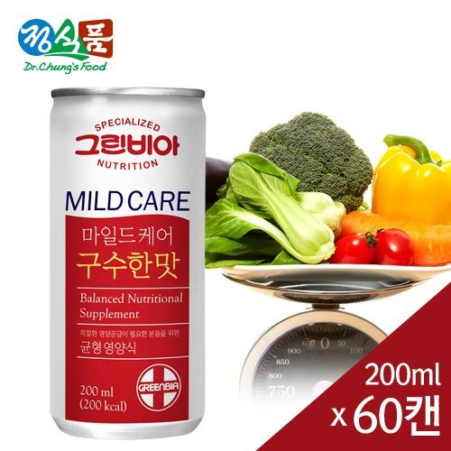M 그린비아 마일드케어 구수한맛 200ml x 60캔 - 환자영양식