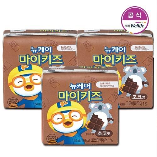 M 뉴케어 마이키즈 초코맛 150ml x 48팩 - 식사대용 영양식