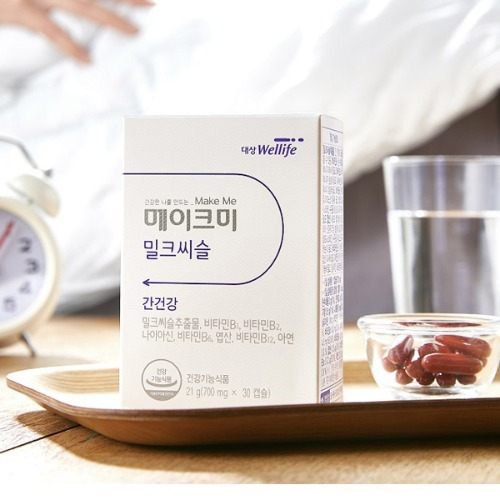 M 대상 웰라이프 메이크미 밀크시슬 30정 - 1개월분