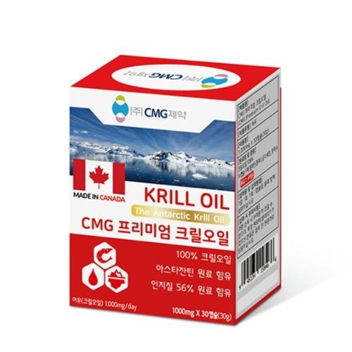 M CMG 프리미엄 크릴오일 1000mg x 30캡슐