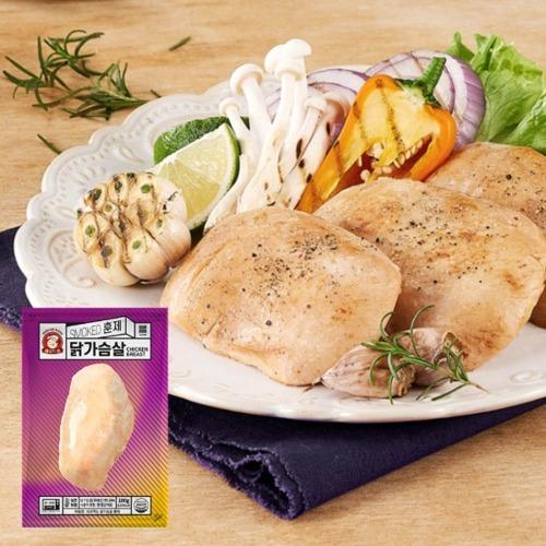 M 바로드숑 바로먹는 훈제 닭가슴살 100g x 10팩 - 식사대용