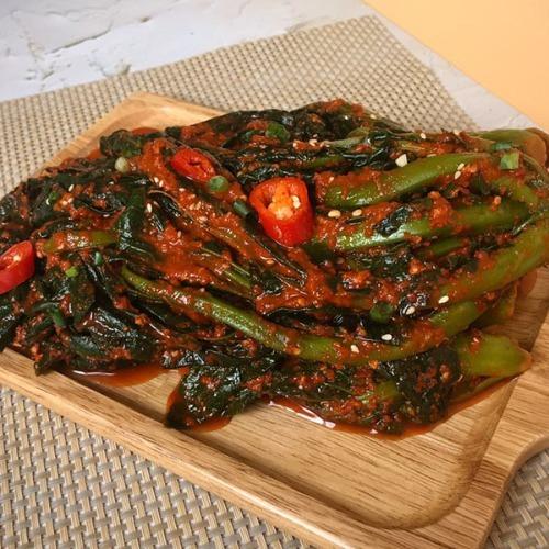 M 여수맛집 현진푸드 갓김치 1kg