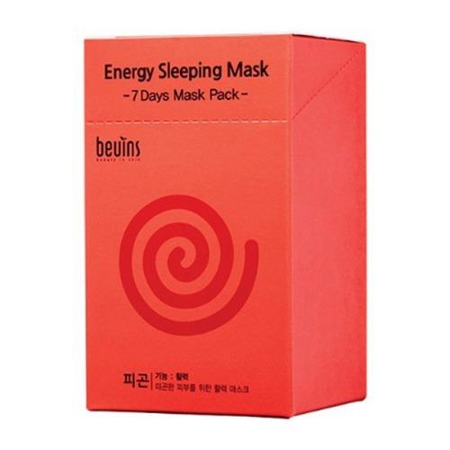M 뷰인스 에너지 슬리핑 마스크 파우치세트 20개입 - 마스크팩