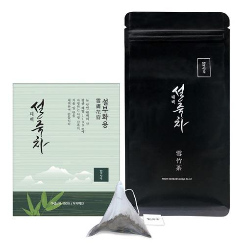 M 태백 설죽차 설부화용 티백 12개입 (1.1g x 12ea)
