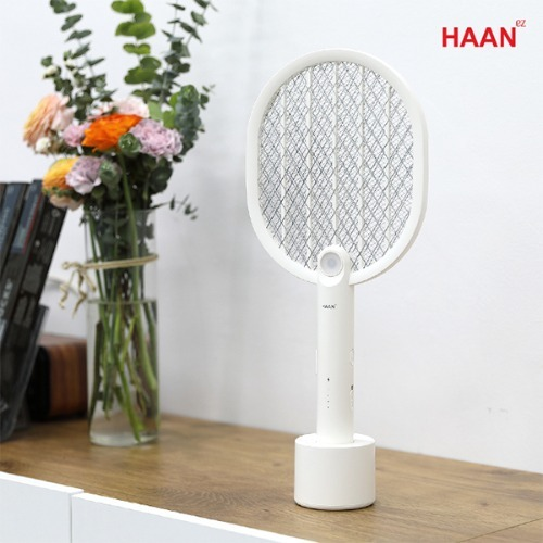 M HAAN 충전식 전기모기채 HMK-2500L - 파리채