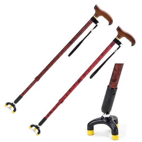M Safety Stick 3발 지팡이 유동형 TS-30 - 노인지팡이