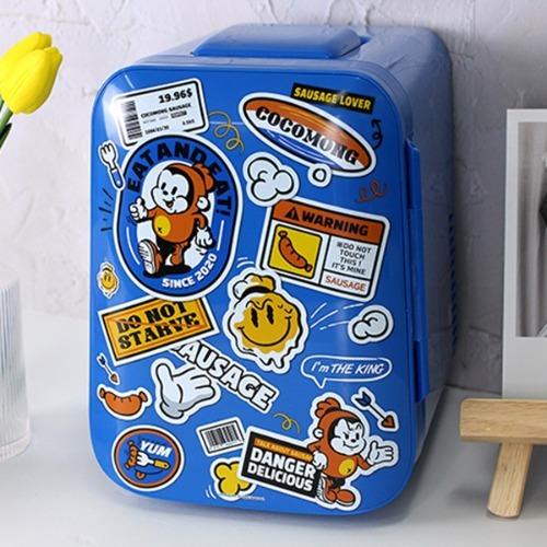 M 레트로 미니 냉장고 4리터 cmg-04 - 냉온장고 화장품냉장고