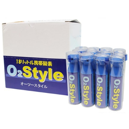 M 오투스타일 휴대용산소캔 18L x 12개 - 산소공급기