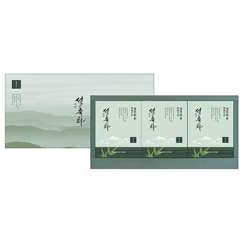 M 태백 설죽차 선물세트 (분말미포함) - 티백세트