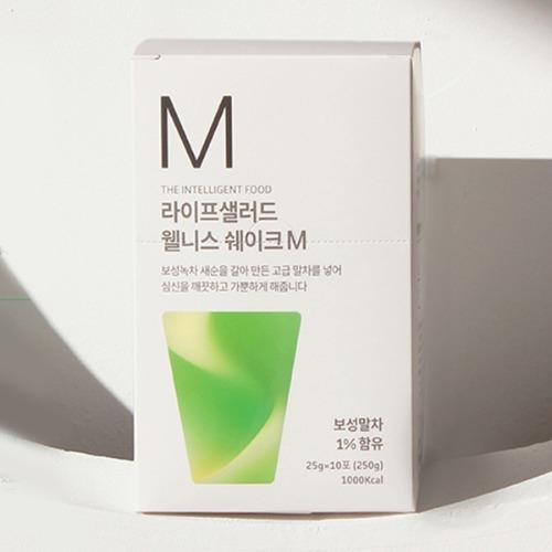 M 라이프샐러드 웰니스파우치M 25g x 10포 - 쉐이크