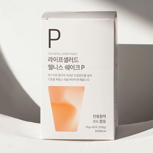 M 라이프샐러드 웰니스파우치P 25g x 10포 - 쉐이크