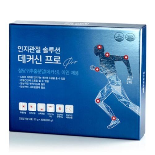 M 인지관절 솔루션 데커신프로 20g x 30포 - 관절영양제