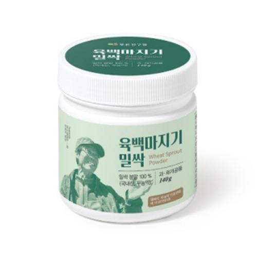 M 육백마지기밀싹 140g x 1통 - 밀싹분말