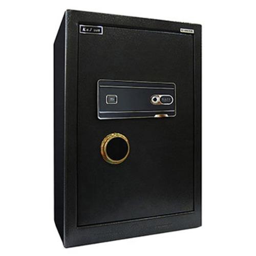 M 가정용금고 KJ-600 디지털+지문 경보장치 4중강철프레임 - 귀중품보관