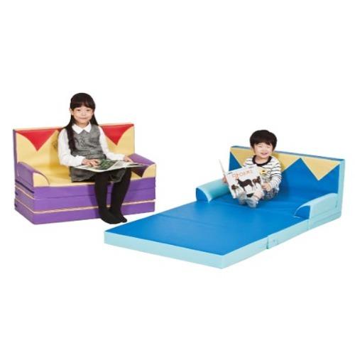 M 층간소음방지 크라운 폴딩 침대매트 KS1441-1 - 놀이방매트